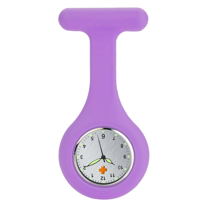 Silicone Nursing FOB Watch Dark Pink