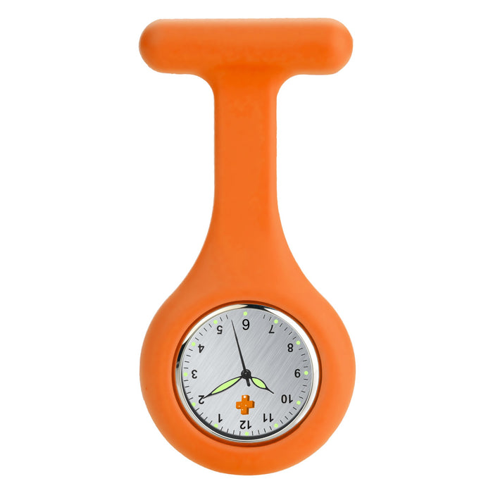 Silicone Nursing FOB Watch Grey