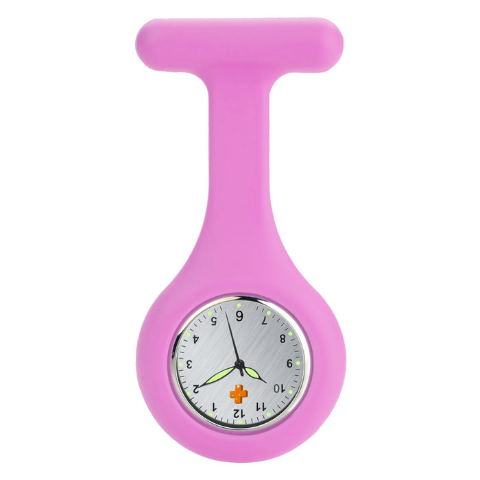 Silicone Nursing FOB Watch Burgundy