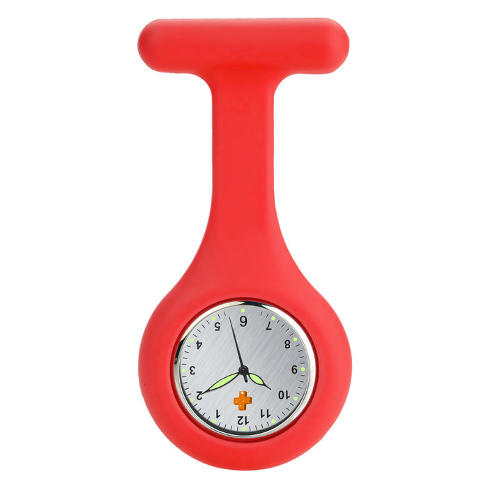 Silicone Nursing FOB Watch Orange