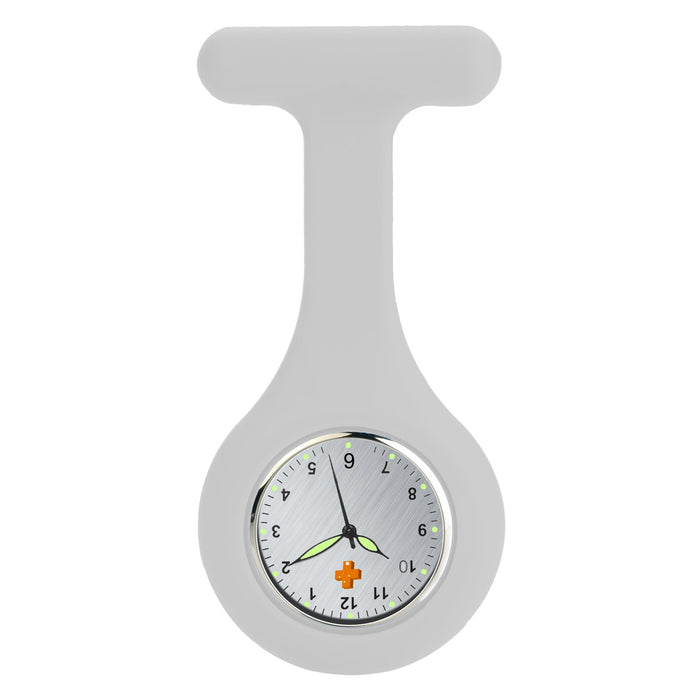 Silicone Nursing FOB Watch White