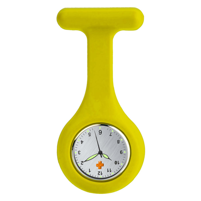 Silicone Nursing FOB Watch Neon Green