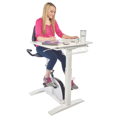 FitStudent Varsity Bike Desk-Out of stock until July 20th