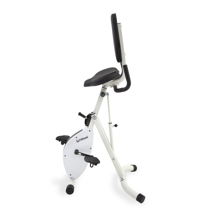 FitDesk Standing Desk Bike fully folded