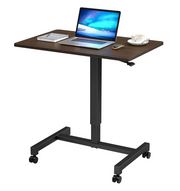 The FitDesk® Adjustable Height Mobile Desk