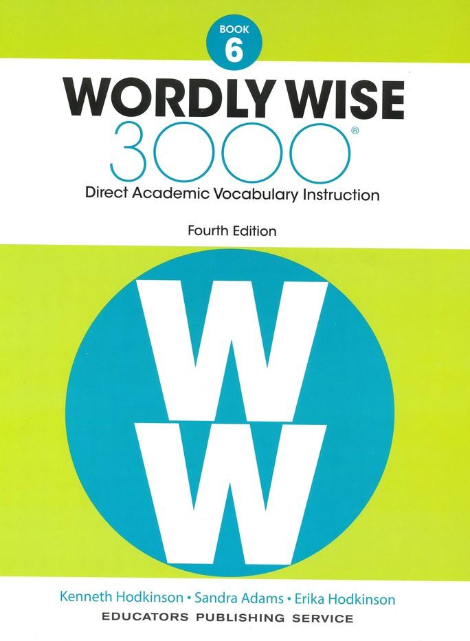 Wordly Wise 3000 Student Book 6 And Answer Key Set 4th Edition
