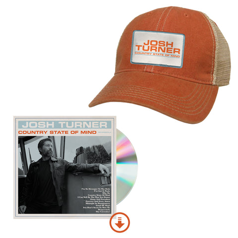 Country State Of Mind Signed CD + Hat + Digital Album