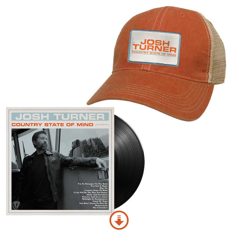 Country State of Mind Signed Vinyl + Hat + Digital Album