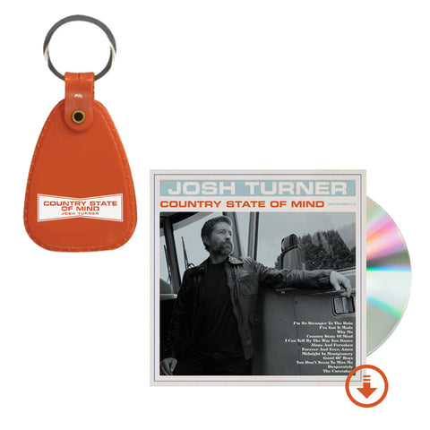 Country State Of Mind CD + Keychain + Digital Album