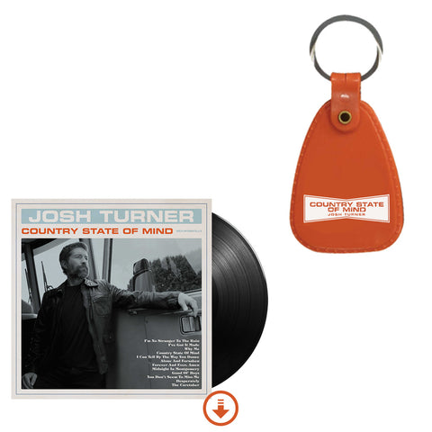 Country State of Mind Vinyl + Keychain + Digital Album