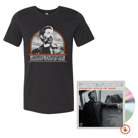 Country State Of Mind Signed CD + T-Shirt + Digital Album