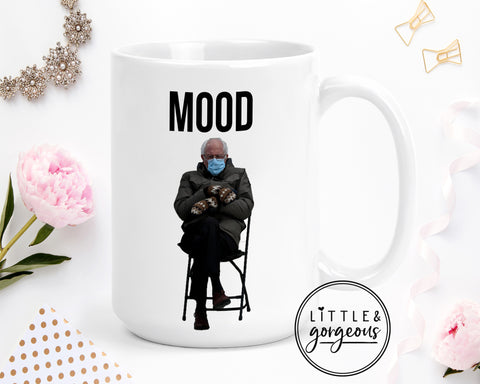 Bernie Mood Coffee Mug