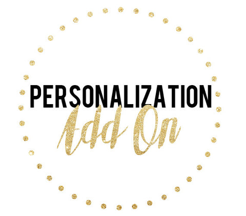 Personalization Add On