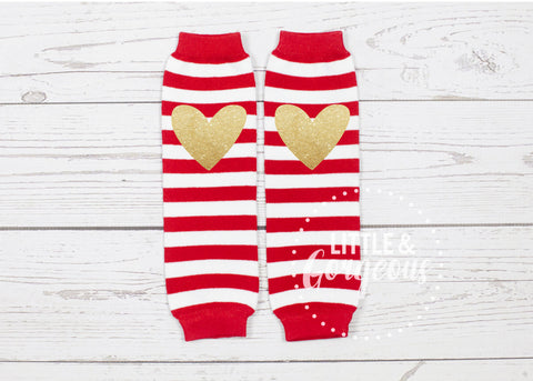 Baby Legwarmers Red White Legwarmers Christmas Legwarmers Kids Striped Legwarmers Red Legwarmer Birthday Outfit
