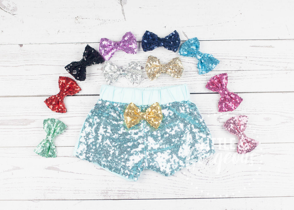 Girls Mint Sparkle Shorts, Mint Sequin Shorts, Girls Sparkle Shorts, Girls Sequin Shorts, Glitter Shorts, Sequin Shorts, Mint Shorts