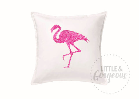 Flamingo Throw Pillow, Flamingo Pillow, Summer Throw Pillow, Flamingo Room Decor, White Flamingo Pillow, Summer Patio Pillow