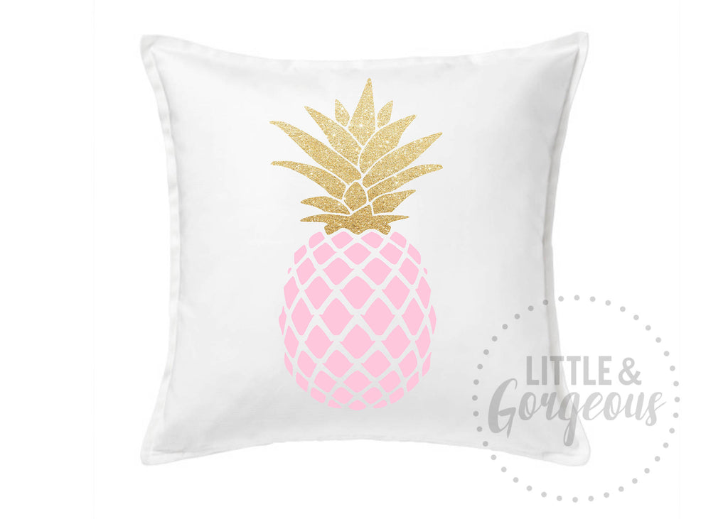 Pineapple Pillow, Pineapple Throw Pillow, Girls Nursery Pillow, Pineapple Nursery, Pineapple Room Decor, White Pineapple Pillow, Pineapple