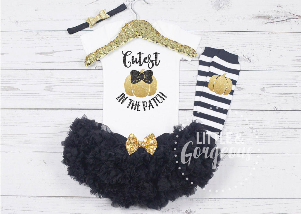 Baby Girls Halloween Outfit Cutest Pumpkin Halloween Onesie Thanksgiving Outfit Girls Pumpkin Onesie