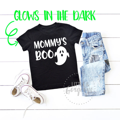 Boys halloween shirt toddler boy first halloween shirt ghost mommys boo halloween shirt kids halloween shirt boys glow in the dark halloween