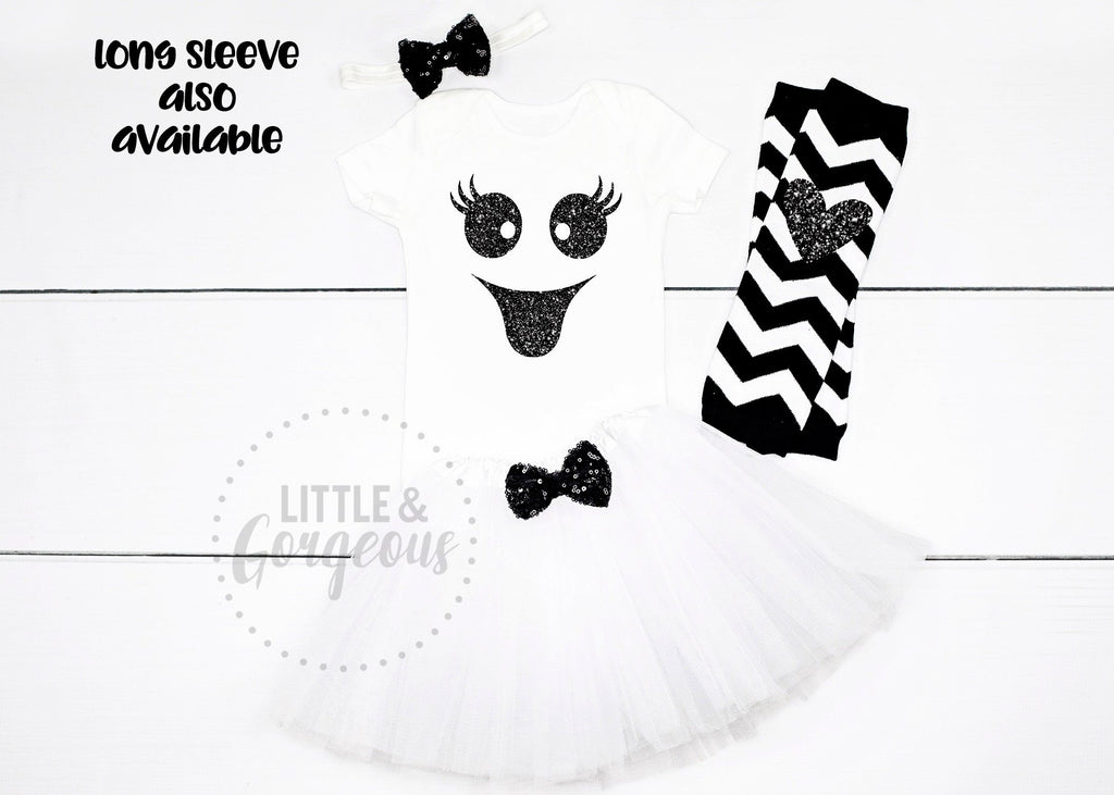 Girls Ghost Costume Outfit Girls Halloween Costume Baby Girl Halloween Costume