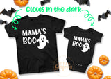 Boys First Halloween Shirt Toddler Boy Halloween Shirt Ghost Mamas Boo Halloween Shirt Kids Halloween Shirt Boys Glow in the Dark Halloween