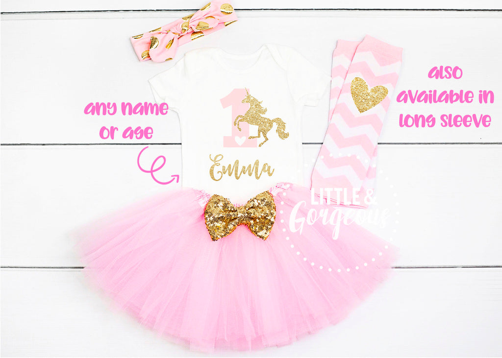 Unicorn First Birthday Outfit Girl First Birthday Girl Outfit First Birthday Outfit 1st Birthday Girl Cake Smash Outfit Unicorn Party