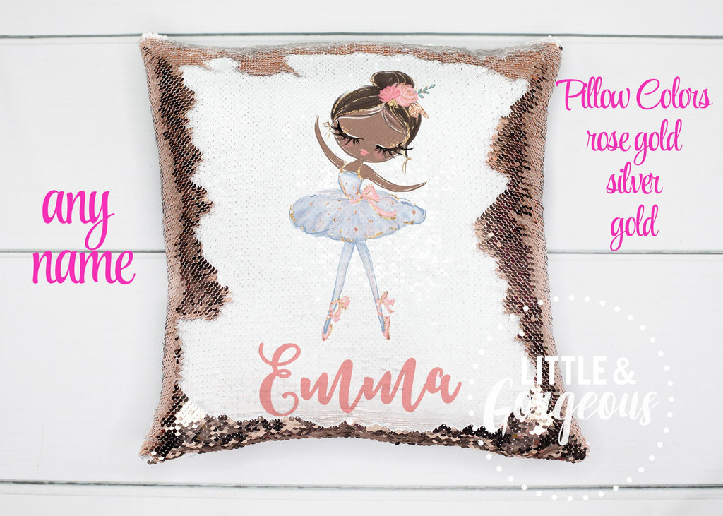 Ballerina Pillow ballet pillow ballerina room decor ballerina gift girls ballet gift ballet birthday gift girls room decor girls ballerina