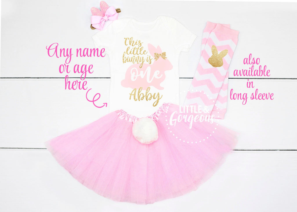 First Birthday Outfit Girl Easter Bunny 1st Birthday Girl Outfit Some Bunny is One First Birthday Outfit 1st Birthday Girl Cake Smash Outfit