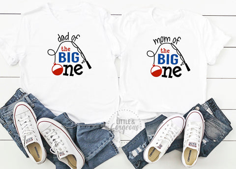 The Big One Boys First Birthday 1st Birthday Shirt Fishing First Birthday Shirt Fishing First Birthday Outfit O Fish Ally One Birthday Shirt