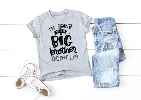 Big Brother Announcement Big Brother Shirt I'm Going to be a Big Brother Promoted to Big Brother Big Brother To Be Pregnancy announcement
