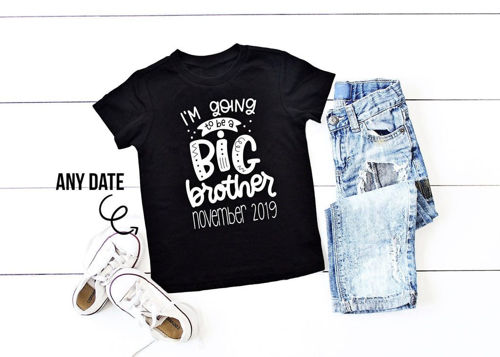 Big Brother Shirt Big Brother Announcement I'm Going to be a Big Brother Promoted to Big Brother Big Brother To Be Pregnancy Announcement