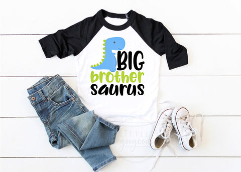 Big Brother Shirt Big Brother Tshirt Big Brother Saurus Shirt Brother Dinosaur Big Brother Announcement Big Brother Gift Baby Announcement