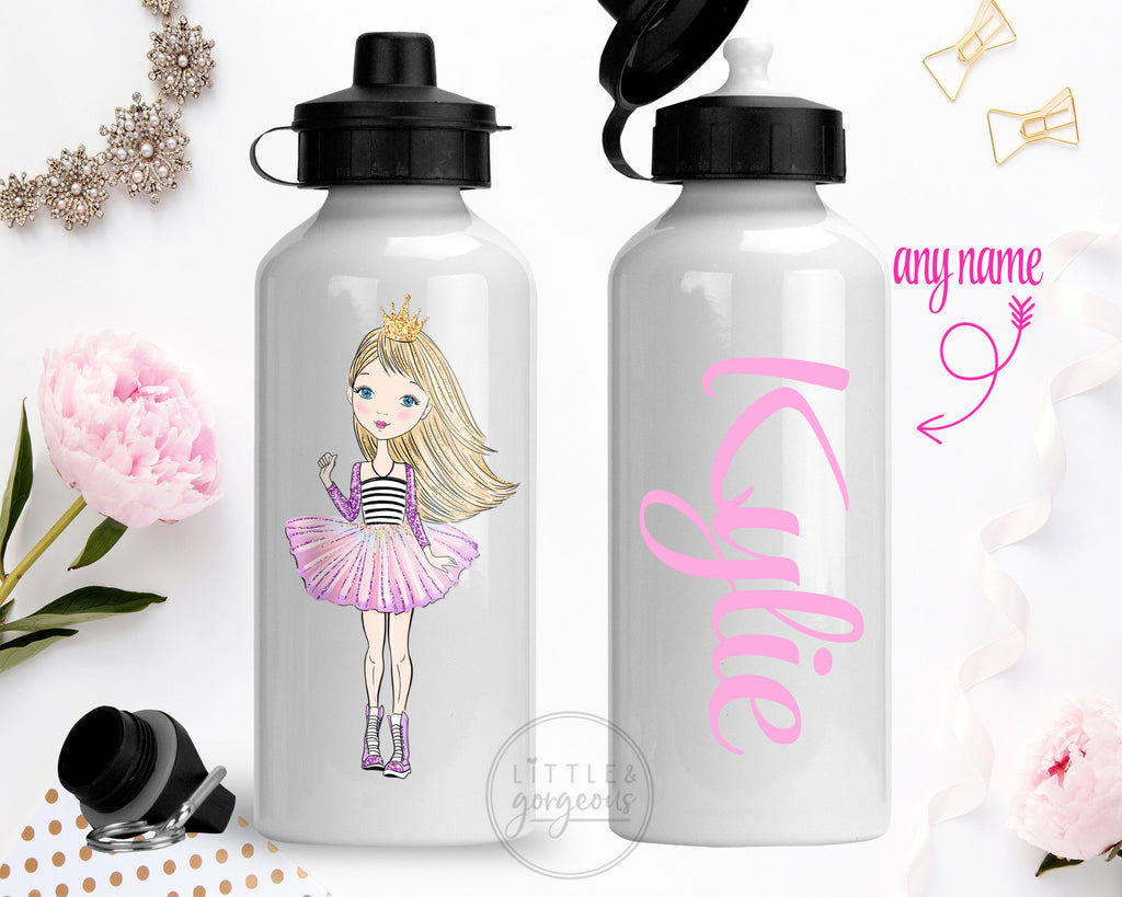 Princess Water Bottle Girls Water Bottle Back to School Water Bottle Personalized Stocking Stuffer Sports Bottle Personalized Gift Christmas