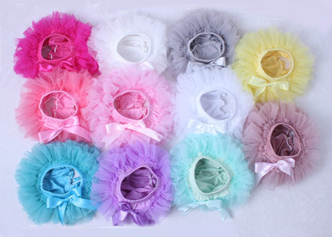 Newborn Baby Girls First Birthday Tutu Bloomer