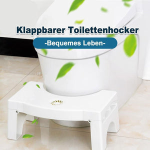 Klappbarer Multifunktions-Toilettenhocker