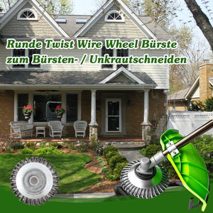 Runde Twist Wire Wheel Bürste zum Bürsten