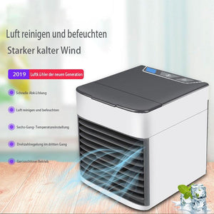 Mini Mobile Klimaanlage Ventilator USB 3 in 1 Luftkühler