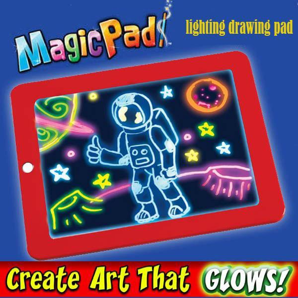 Kinder Magic Pad 3D Portable, Schreiben Magic Drawing Pad