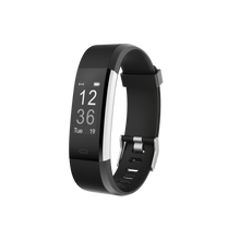 Load image into Gallery viewer, Kfit Band 2 Heart Rate Monitor Smart Band Black