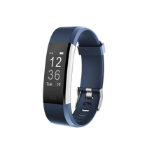 Load image into Gallery viewer, Kfit Band 2 Heart Rate Monitor Smart Band Blue