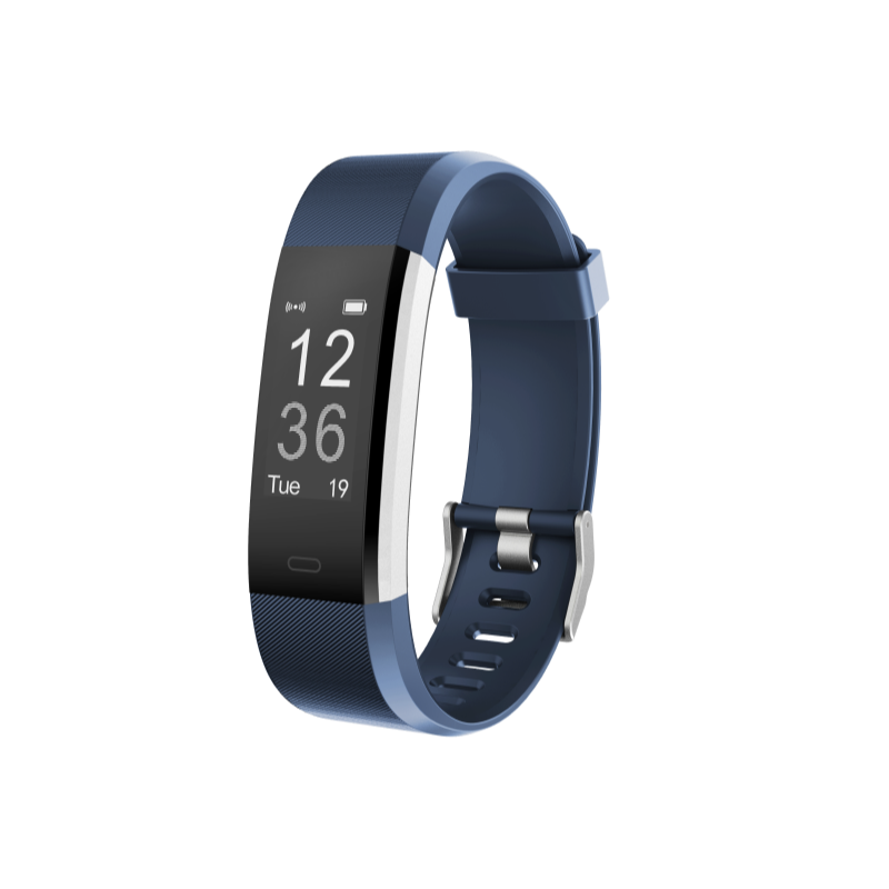 Kfit Band 2 Heart Rate Monitor Smart Band Blue
