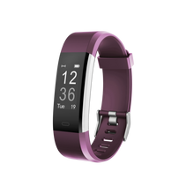 Load image into Gallery viewer, Kfit Band 2 Heart Rate Monitor Smart Band Purple