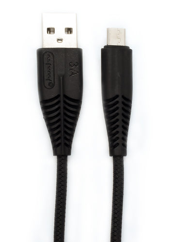 Heavy Knot Micro USB Fast-Charging Cable