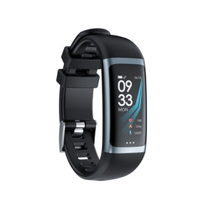 PK2 Smart Fitness Tracker Heart Rate Monitor PK2 Black