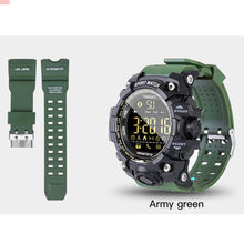 Load image into Gallery viewer, B-Shock Army Green Smartwatch Bracelet
