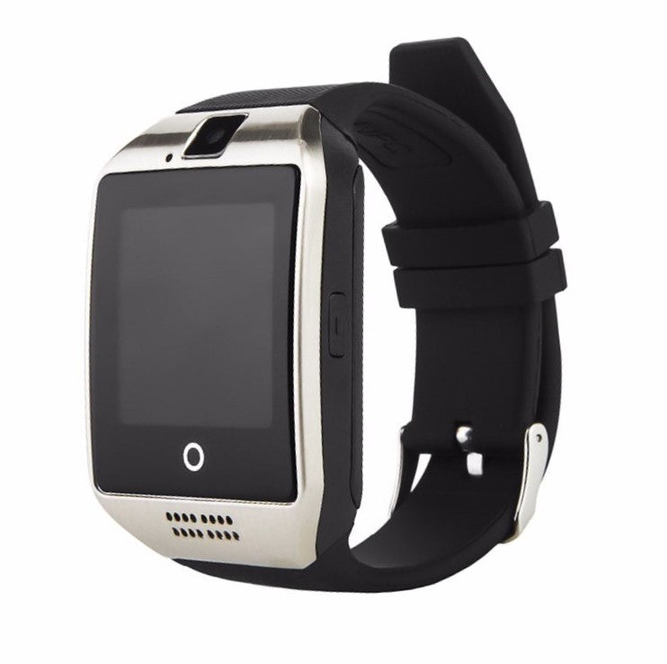 Smartwatch S2 Android & iPhone compatible Silver on Black