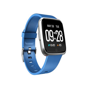 Smart Tersa Fitness Tracker Heart Rate Monitor Blue