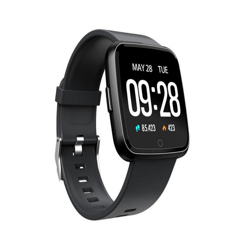 Smart Tersa Fitness Tracker Heart Rate Monitor Black