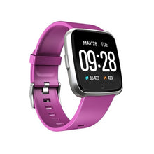 Load image into Gallery viewer, Smart Tersa Fitness Tracker Heart Rate Monitor Purple