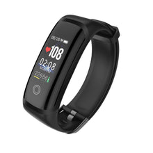 Load image into Gallery viewer, PK3 Fitness Tracker Bracelet with Heart Rate Monitor sensor all Black